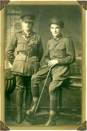 Ernie AFC & Leslie - Army Transport WWI