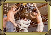 Fitting the Engine in VH-BOB